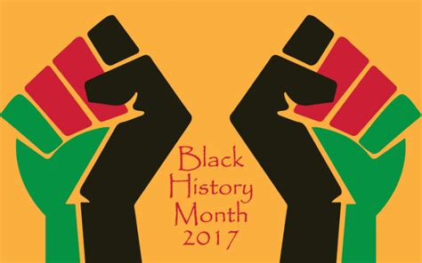 black history colors black history month celebrated with series of events in