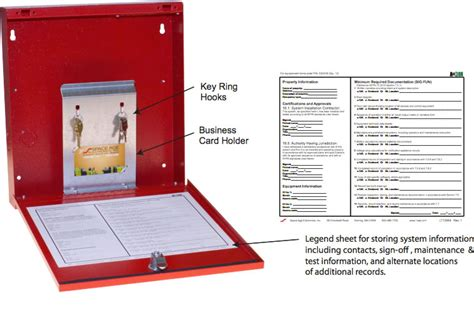 fire alarm document space age electronics fdb fire alarm documents box