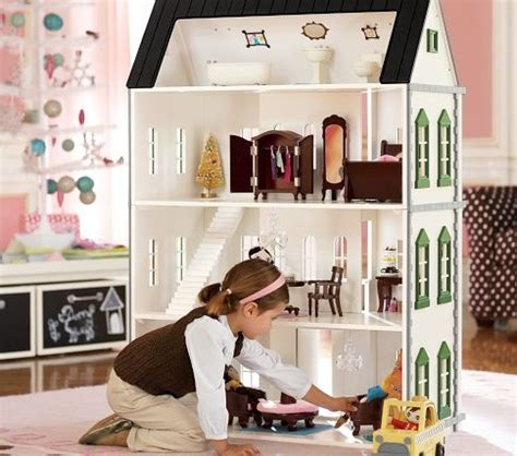 pottery barn doll house pin by meggan fletcher on for my daughter pinterest