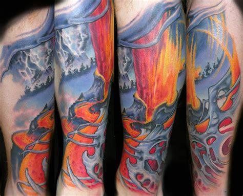 liger tattoo liger search tattoos tattoos volcano
