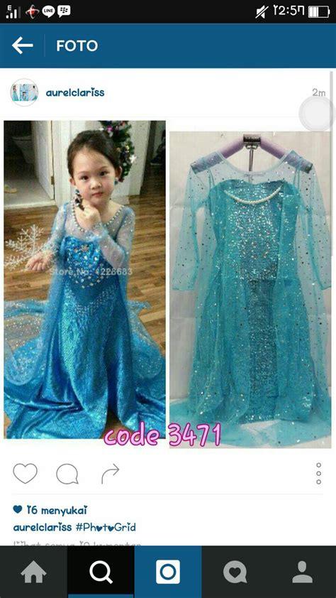 Gamis Anak Frozen Lnice frozen baju frozen baju jual baju dress kostum