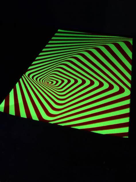 teppich 2 x 2 m psywork schwarzlicht teppich fluo quot tune in quot 1 2x2m