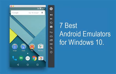 Android Emulator For Windows by 7 Best Android Emulators For Windows 10 That You Must Consider