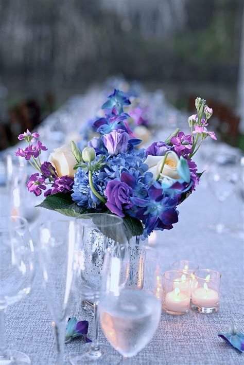 Flower Centerpieces by Best 25 Purple Flower Centerpieces Ideas On