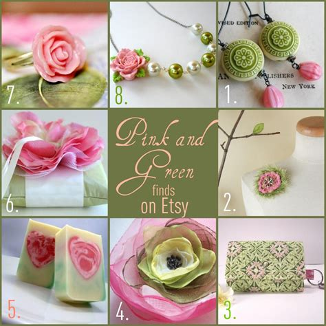 Putting It Together Green Pink by Tails To Tell Finds Friday Pink And Green