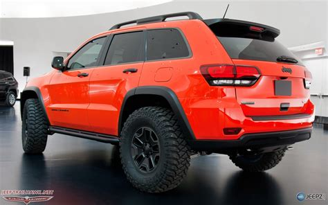 jeep grand cherokee trailhawk lifted 2013 moab concepts revealed