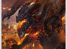 Game Dragon Battle! (Alduin vs Deathwing vs Bahamut ... Deathwing Fight