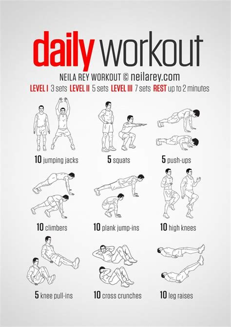 a simple no equipment workout for every day nine