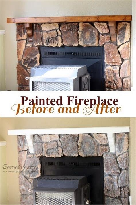 Wall Paint Ideas 5442 by 25 Creative White Wash Fireplace Ideas To Discover And