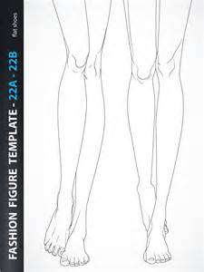 Fashion Design Templates by Fashion Croquis Template 22a 22b Fashion Design