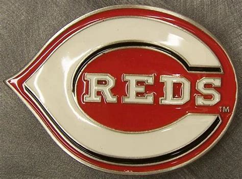 Cincinnati Reds Box Office by Mlb Pewter Belt Buckle Cincinnati Reds New Ebay