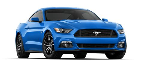 updates and new colors are highlights for the 2017 mustang