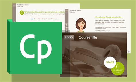 new adobe captivate template for elearning developers