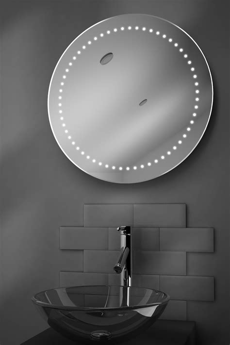 sambar shaver led bathroom illuminated mirror with aero shaver led bathroom illuminated mirror with demister