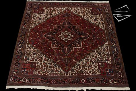 Large Square Rug by Mehrivan Square Rug 12 X 13