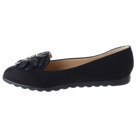 ballet loafers new womens flat slip on loafers ballet diamante