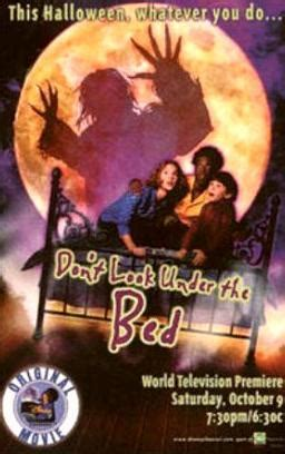 don t look under the bed dvd don t look under the bed tv 1999 filmaffinity