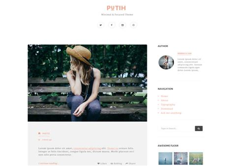 tumblr themes for quote blogs best premium responsive tumblr themes free demos