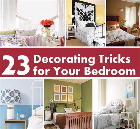 23 decorating tricks for your bedroom diy home things
