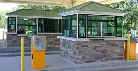 toll booth design custom toll booth portable steel building blog by par kut