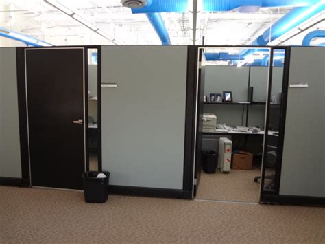 Cubicle With Door by Used Office Cubicles Herman Miller Ao2 Cubicles 85 Quot High