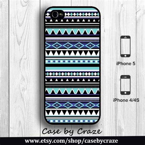 Iphone 5 5s Hw 03 Aztec Tribal Pattern Retro Plastic blue aztec iphone 4 iphone 4s