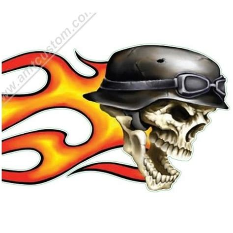 custom motorcycle stickers design motorcycle stickers skull decal flames biker tank motorcycle stickers amt