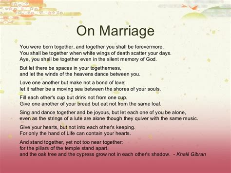 Wedding Blessing Words Christian by Marriage Wisdom And Blessing