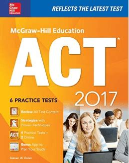 act book 2017 best act prep books 2016 2017 magoosh high school