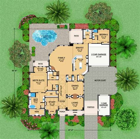 2 story european house plans european style house plans 6974 square foot home 2 story 6 luxamcc