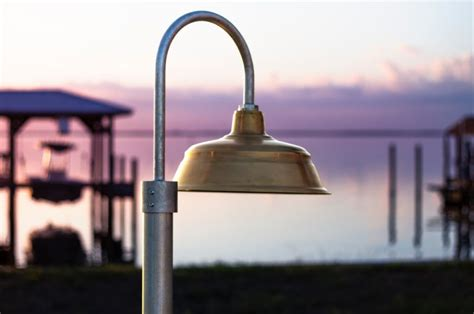 American Made Outdoor Lighting Outdoor Lighting Dilemma Solved With Brass Copper Post Mount Lights Barnlightelectric