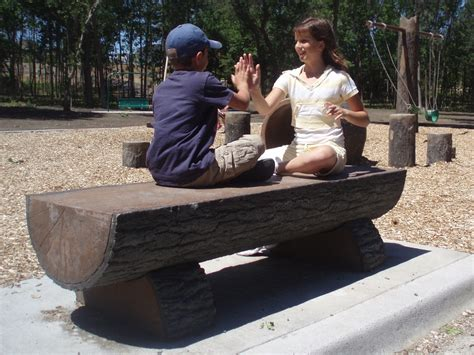 how to make log benches half log bench by cre8play