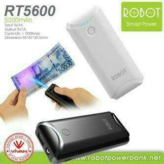 Powerbank Vivan 13 000 Mah jual beli powerbank power bank robot rt5600 5200 mah