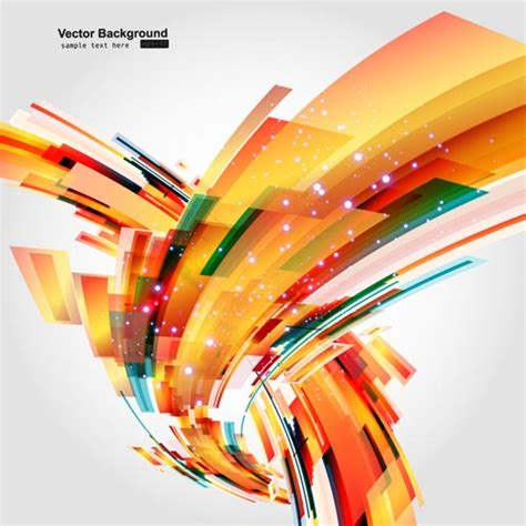 Dynamic Layout Graphic Design | colorful dynamic graphics vector free vector 4vector