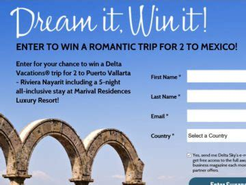 Win It Sweepstakes - sky delta dream it win it sweepstakes