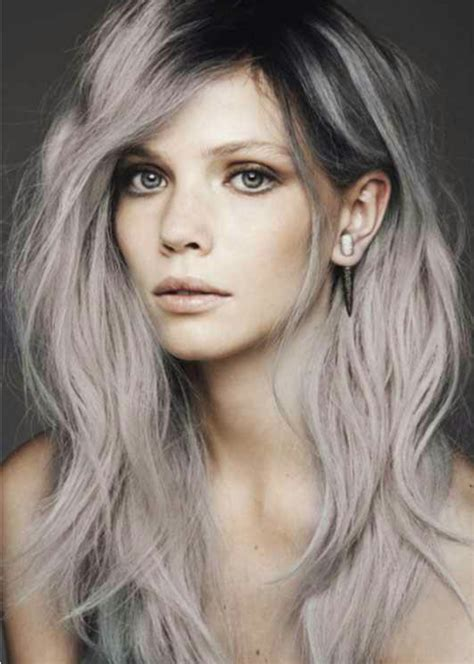grey hair dye trend alert grey hair la femme rebelle clothing