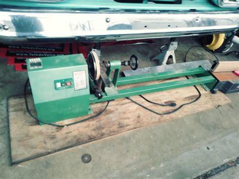 cummins mack wood lathe  trilby tools  sale