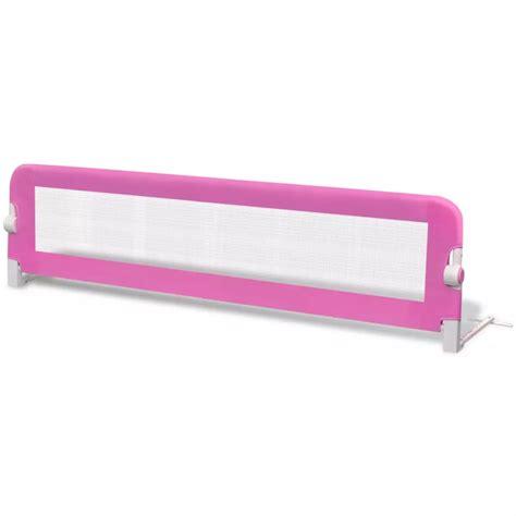safety bed rails vidaxl co uk toddler safety bed rail 150 x 42 cm pink