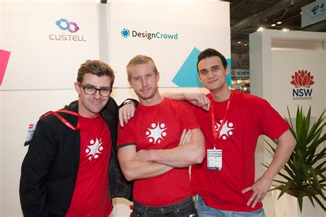 designcrowd com au designcrowd goes to cebit