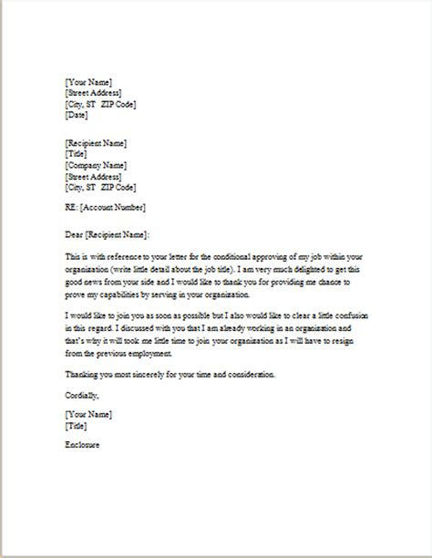 Closing Reply Letter Response Letter Template For Word Word Excel Templates