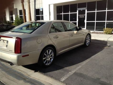 airbag deployment 2007 cadillac sts navigation system sell used 2007 cadillac sts pearl metallic paint navigation in las vegas nevada united states