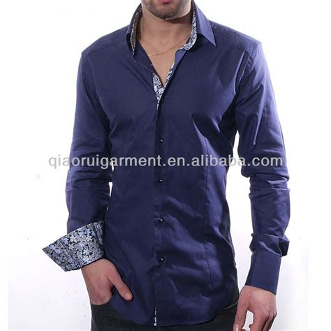 Pleated Slim Fit s slim fit pleated shoulder cuff dress shirt