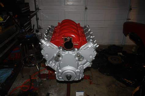 Paint Ls by Painting The Ls Engine Impala Tech