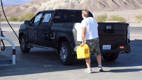 2019 Ford Half Ton Diesel by 2019 Chevy Silverado Half Ton Spied Filling Up With