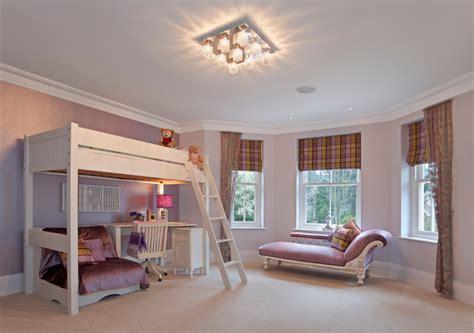 kuschelecke unterm hochbett wandgestaltung im kinderzimmer style your castle