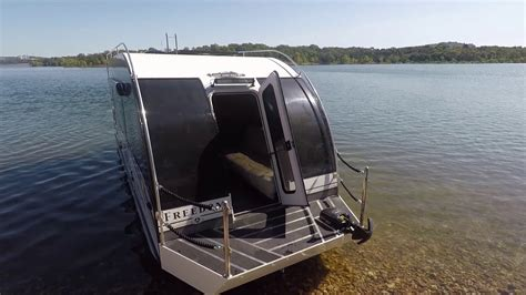 land and sea rv trailerable house boat youtube - Rv And Boat Sales