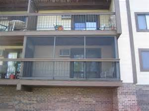 balcony enclosures for condos apartments