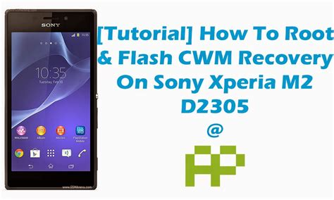 tutorial flash android tutorial how to root flash cwm recovery on sony xperia