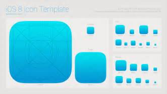 Ios App Template by Ios 8 App Icon Template Free Psd Psdexplorer