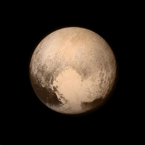 color of pluto space images color image of pluto